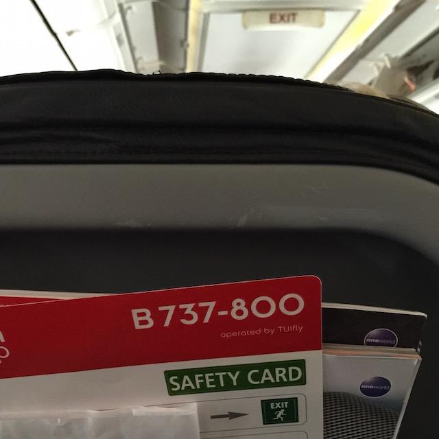 Im A320 war´s extremer.