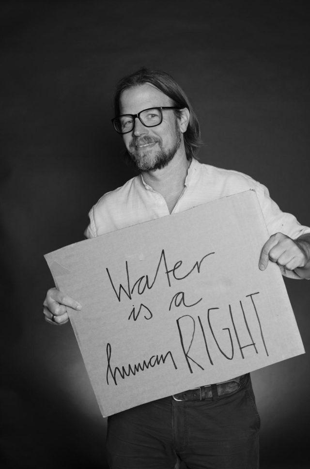 Carsten Kreilaus für Viva con Agua
